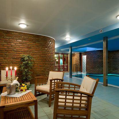 Grand Hotel Třebíč **** v historickém centru s polopenzí a bazénem