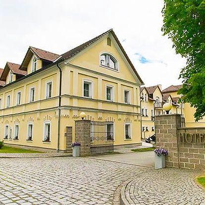 4denní wellness pobyt pro 2 v luxusním hotelu Rezidence Goethe**** u Mariánských Lázní