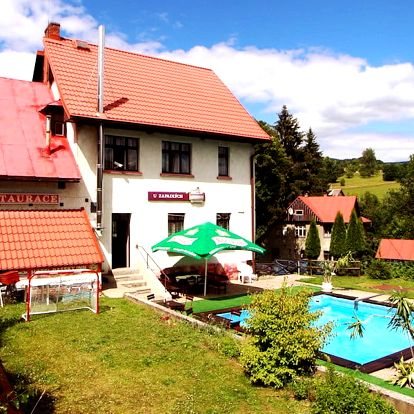 3–4 dny s polopenzí a bazénem v Krkonoších