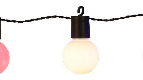 Světelný LED řetěz vhodný do exteriéru Best Season Hooky, 20 světýlek