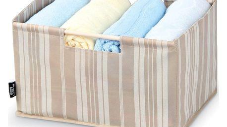 Úložný box Domopak Stripes, délka38cm