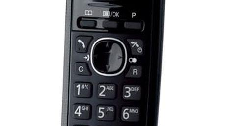 Domácí telefon Panasonic KX TG1611FXH DECT šedý (KX-TG1611FXH)