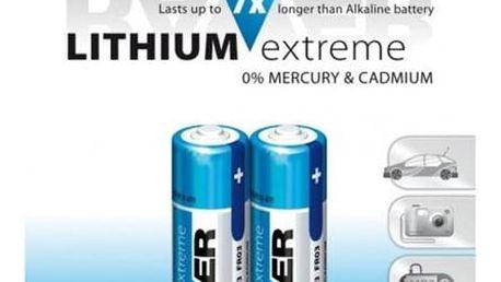 Baterie lithiová GP Raver AA, LR6, blistr 2ks (RLT FR6-B2)