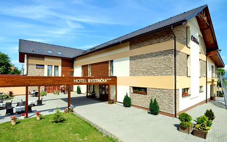 To pravé Slovensko: podhůří Malé Fatry v útulném hotelu na předměstí Martina se vstupem do wellness i polopenzí