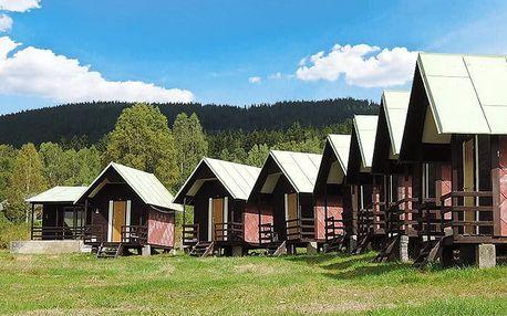 3–4denní pobyt pro až 4 osoby v kempu Boubínské léto na Šumavě