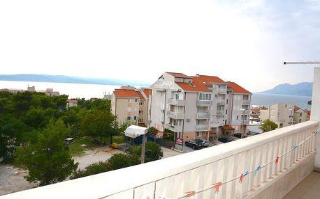 Chorvatsko - Baška Voda na 10 dní, polopenze s dopravou autobusem