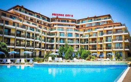 Bulharsko - Primorsko na 8 až 12 dní, all inclusive s dopravou letecky z Bratislavy 100 m od pláže