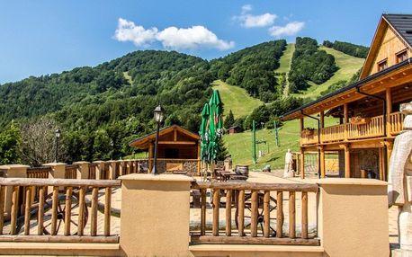 Letný wellness pobyt v horskom prostredí pod vrchom Kľak