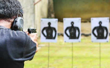 Střelecké balíčky pro 1 nebo 2 osoby: samé ráže