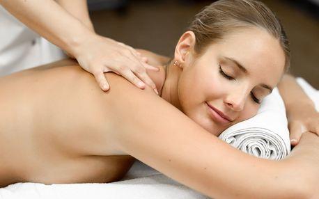 Úleva po celodenní námaze: masáž zad a šíje