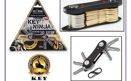 Multifunkční organizér na klíče Keyninja