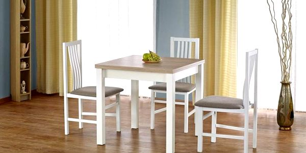 Dřevěný rozkládací jídelní stůl Gracjan dub sonoma2