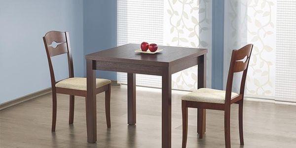 Dřevěný rozkládací jídelní stůl Gracjan dub sonoma4