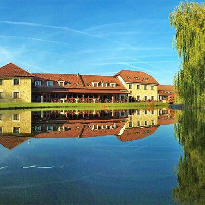 Střední Čechy v luxusním hotelu Lions s All inclusive programem, neomezeným vstupem do wellness a plnou penzí