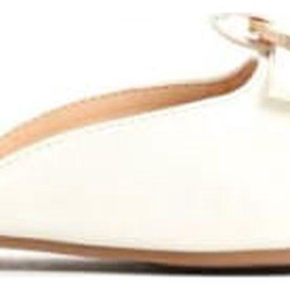 Dámské bílé pantofle Zoya 013