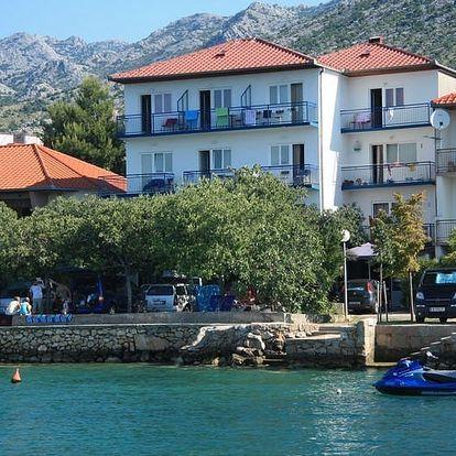 Chorvatsko - Severní Dalmácie na 10 dní, polopenze s dopravou autobusem přímo na pláži