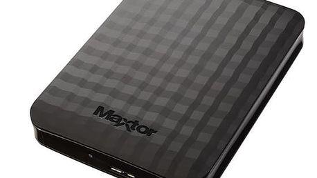 """Externí pevný disk 2,5"""" Maxtor M3 Portable 500GB černý (STSHX-M500TCBM)"""