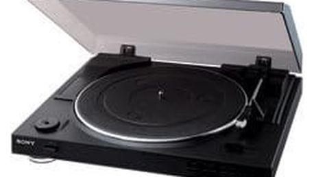 Gramofon Sony PS-LX300USB černý + DOPRAVA ZDARMA