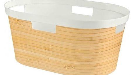 Curver Koš na čisté prádlo Infinity Bambus 39 l