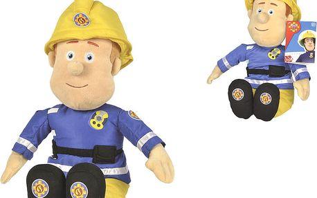 SIMBA Požárník Sam - plyšová figurka 45 cm