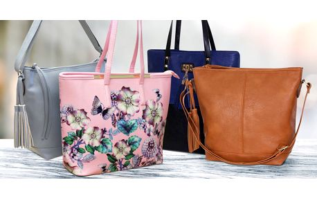 Dámské koženkové kabelky: mnoho stylů a barev