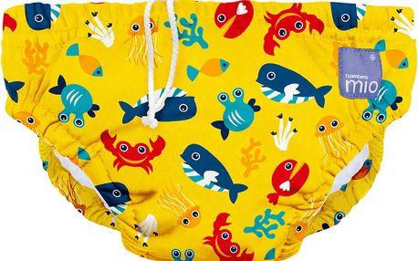 BAMBINO MIO Kalhotková koupací plena Deep Sea Yellow vel.M (7-9kg)