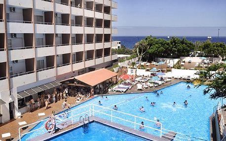 Kanárské ostrovy - Tenerife na 8 dní, all inclusive s dopravou letecky z Prahy 300 m od pláže