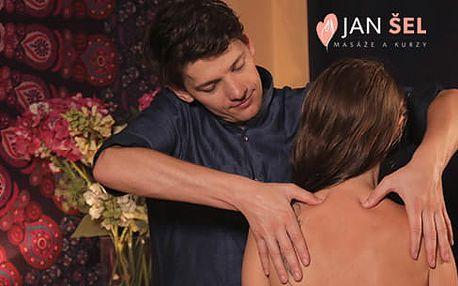 Uvolňující masážní rituály Jana Šela v délce 30-60 minut
