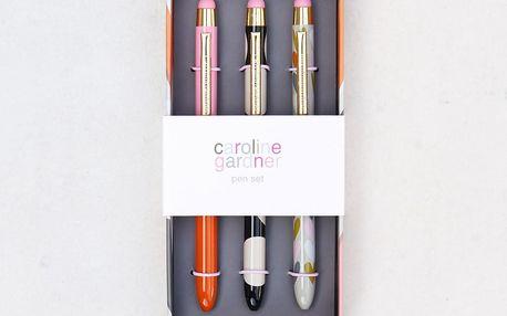 Sada 3 per v dárkovém balení Caroline Gardner Layered Hearts Pen Pack