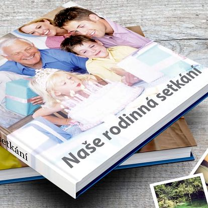 Fotokniha XL nebo A4 v pevných deskách