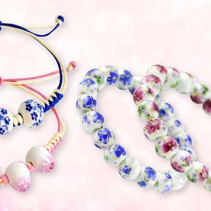 Elegantní keramické a porcelánové šperky