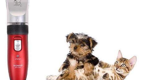 Sonar střihací strojek na psy