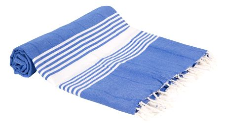 Hamam osuška z ručně tkané bavlny ZFK Halldis, 180x100cm