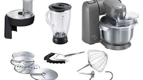 Kuchyňský robot Bosch MaxxiMUM MUMXL40G šedý