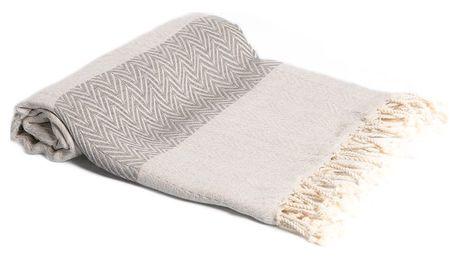 Hamam osuška z ručně tkané bavlny ZFK Hermod, 180x95cm