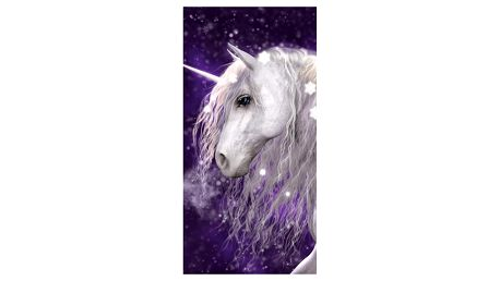 Jerry Fabrics Osuška Unicorn, 70 x 140 cm