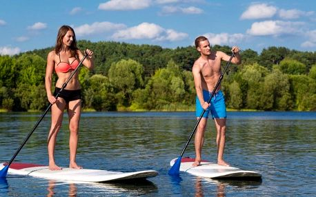 2 hod. paddleboardingu s instruktáží pro 1–4 os.