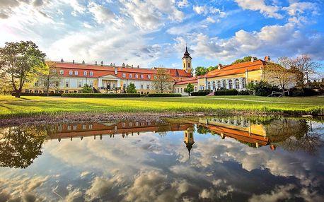 Romantika v zámeckém hotelu na jihu Slovenska