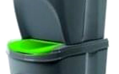 Koš na tříděný odpad Sortibox 20 l, 4 ks, šedá IKWB20S4 405U