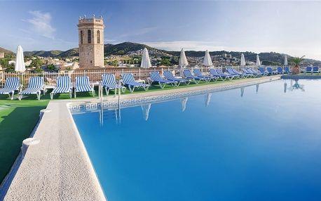 Španělsko - Costa del Maresme na 10 dní, plná penze s dopravou autobusem 450 m od pláže