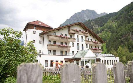 Rakousko - Tyrolsko na 3 až 11 dní, all inclusive s dopravou vlastní
