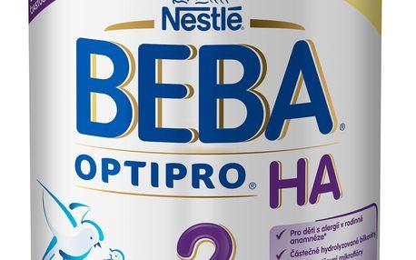 NESTLÉ BEBA Optipro HA 2 (800 g) - kojenecké mléko