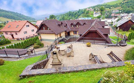 Výjimečná slovenská Orava ve skvěle umístěném penzionu v blízkosti termálů i Západních Tater