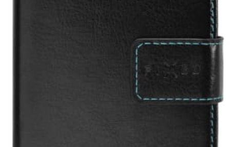 Pouzdro na mobil flipové FIXED Opus pro Samsung Galaxy A6 černé (FIXOP-311-BK)