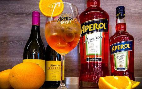 Domácí limonáda, kafe či Aperol v Dlouhé