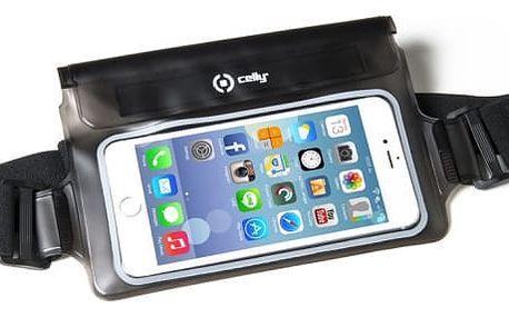 """Pouzdro na mobil sportovní Celly Splash Belt pro 5,7"""" černé (SPLASHBELTBK)"""