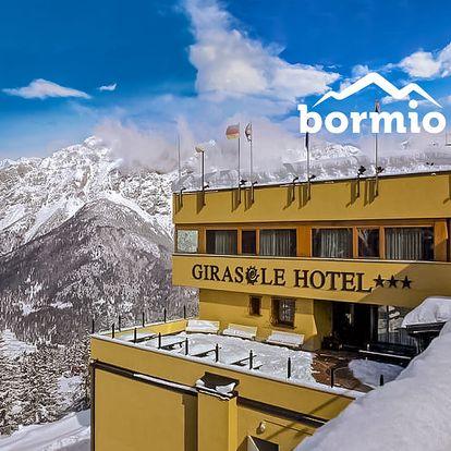 5denní Bormio se skipasem   Hotel Girasole***   Doprava, ubytování, polopenze a skipas