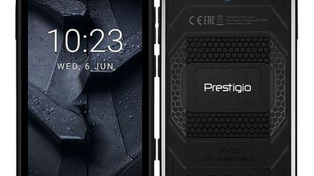 Mobilní telefon Prestigio Muze G7 Dual SIM černý + dárek (PSP7550DUOBLACK)
