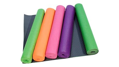 Yate Yoga Mat + taška oranžová