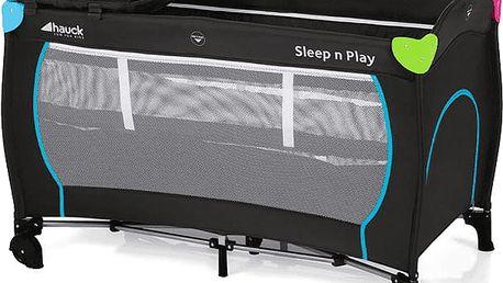 HAUCK Cestovní postýlka Sleep N Play Center – Multicolor black 2018